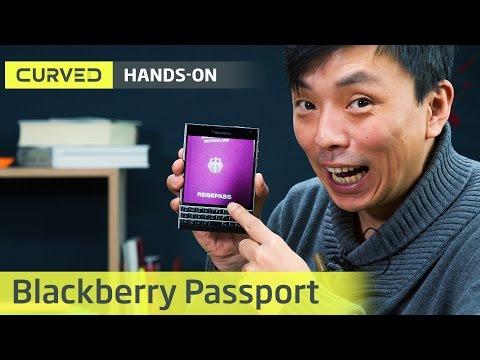 Blackberry Passport im Hands-On | deutsch