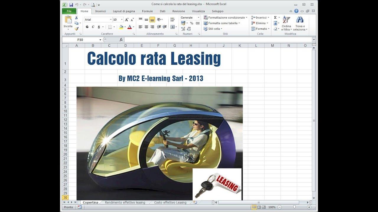 Calcolo Rata Mutuo Con Simulatore Finanziario Come