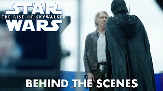 Star Wars The Rise of Skywalker Harrison Ford Behind the Scenes