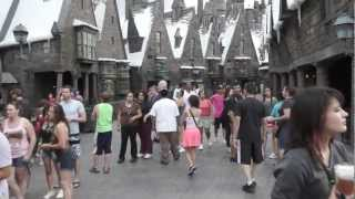 Walk Through The Wizarding World of Harry Potter at Universal Studios Orlando Florida
