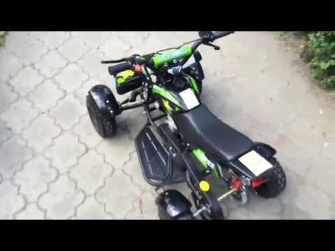 Обзор детского квадроцикла MOTAX ATV H4-mini 2016 года