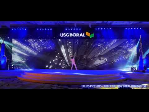 Interactive Dance by Dolee 3D - USG Boral Interactive Vietnam