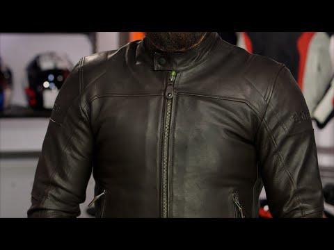 Alpinestars Motorcycle Jacket >> Alpinestars Brera Leather Jacket Review at RevZilla.com - YouTube