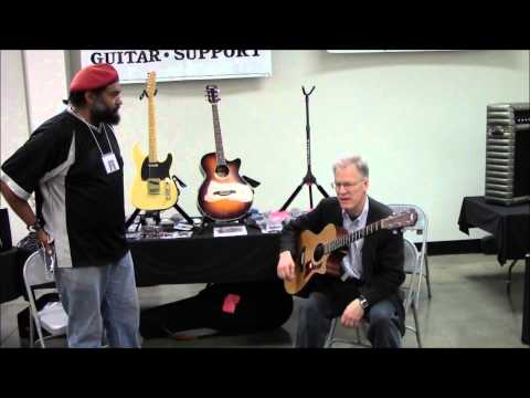Interview with Mark Hamre and the NeckUp Guitar Support System