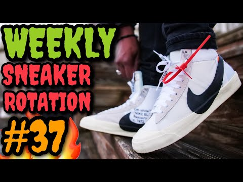 WEEKLY SNEAKER ROTATION ON FEET 37 (What I Wore Ft. Off-White, Nike, Yeezy & ?) #NUMEROTREINTAYSIETE