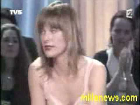 Milla Jovovich  Scandal on French TV