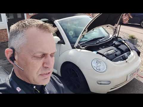 Diagnostic consultation and Engine Carbon Clean on a VW Beetle 2.0 petrol (2004 - 145,036 miles)