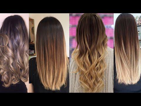 Hair Highlights Colour Ideas/ombre Colour For Hairs/indian  Hair Colour Ideas