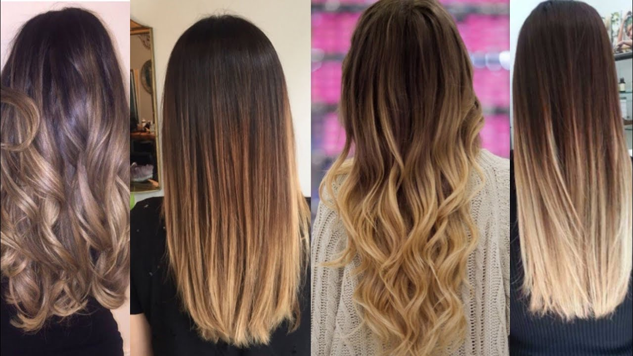 Hair Highlights Colour Ideas Ombre Colour For Hairs Indian Hair Colour Ideas Youtube