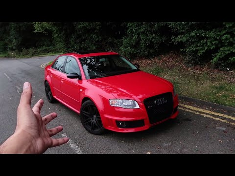This Audi RS4 B7 is the MOST BRUTAL AUDI I