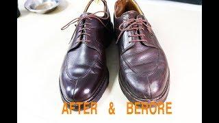 [ASMR] clean & restore  PARABOOT avignon  burgundy  -VeTiVeR