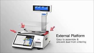 Обзор торговых весов CAS CL3000