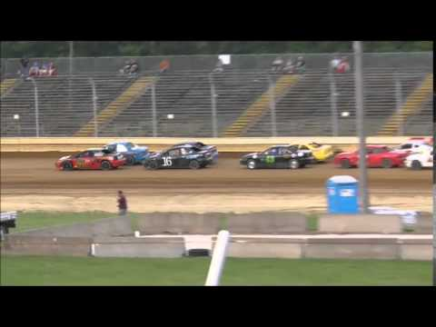 Sharon Speedway Mini Stock Feature May 30, 2015