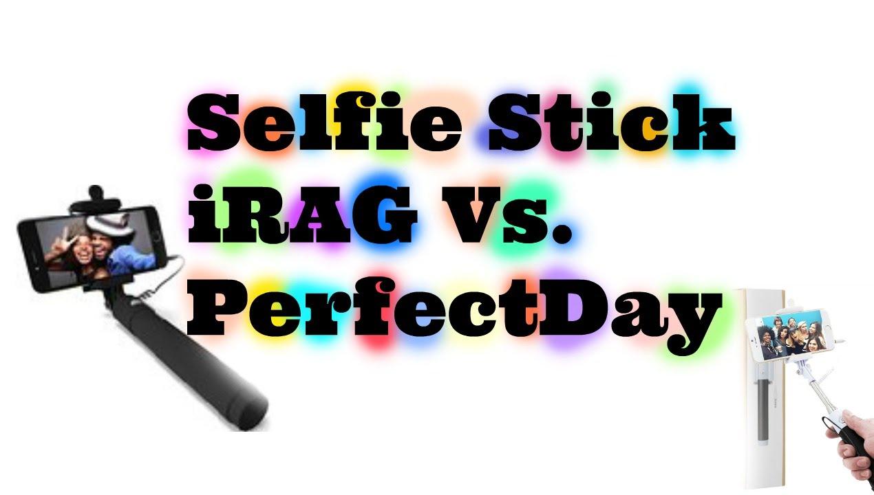 selfie stick irag vs perfectday youtube. Black Bedroom Furniture Sets. Home Design Ideas