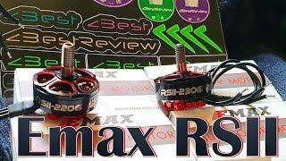 ✔ Тяги нет? Есть эффективность! Моторы Emax RSII 2206, Emax RSII 2306