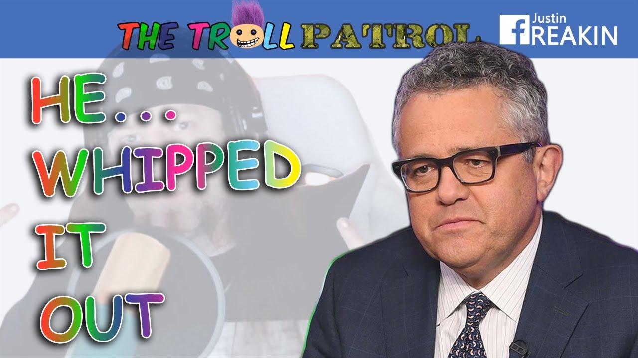 Jeffrey Toobin Suspended After Taking Out Penis On Zoom Call - Troll Patrol Clips