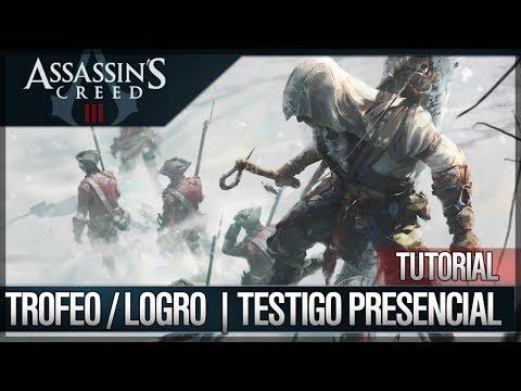 Assassin's Creed 3 - Walkthrough Guía Español - Trofeo / Logro - Testigo presencial