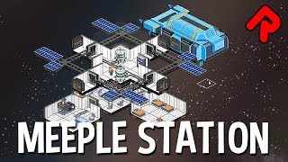 MEEPLE STATION gameplay: New Space Station Sim! (PC pre-alpha)