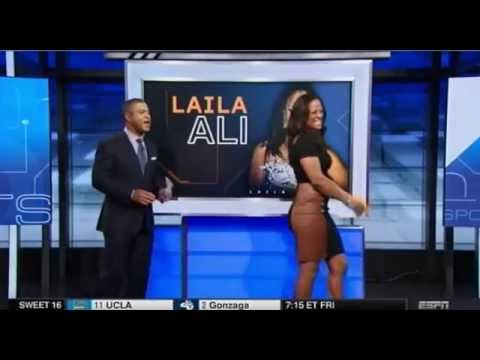Laila Ali on fighting Ronda Rousey and predicts Mayweather vs Pacquiao
