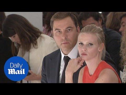 Before The Split: David Walliams And Lara Stone At NYFW - Daily Mail