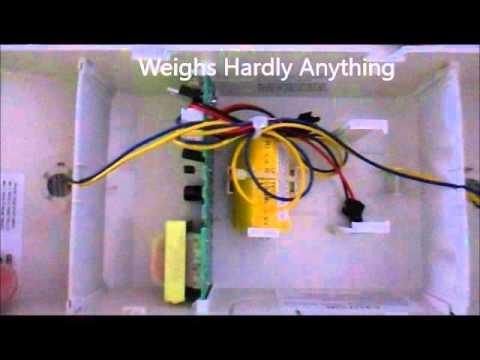 DIY LED Emergency Lighting Installation April 22, 2016 - YouTube Led Light Wiring Diagram V on