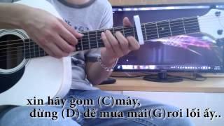 Hướng dẫn đệm hát Nơi tình yêu kết thúc (GmG Guitar) Guitar tutorial #1