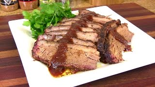 Smoked BBQ Beef Brisket Recipe- Traeger Grills Collab Cooking With Carolyn