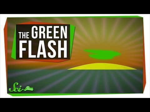 It's True: The Sun Really Does Flash Green