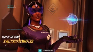 Showing What The #1 Symmetra on Console Looks Like, Getting Ult Every Team Fight | Overwatch