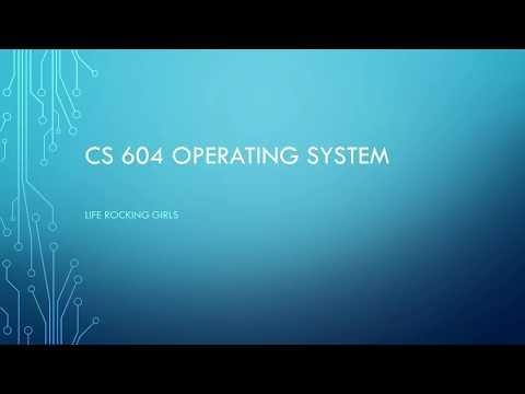 CS604 Operating System GDB Spring 2018 Idea Solution