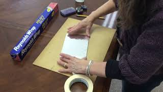 Foil Drawing with Sonia Allen (Ash Creek Arts Center, Teen & Adult)