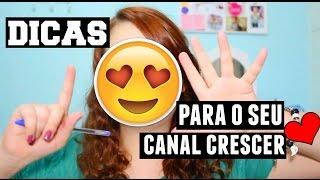Baixar 6 DICAS PARA O SEU CANAL CRESCER