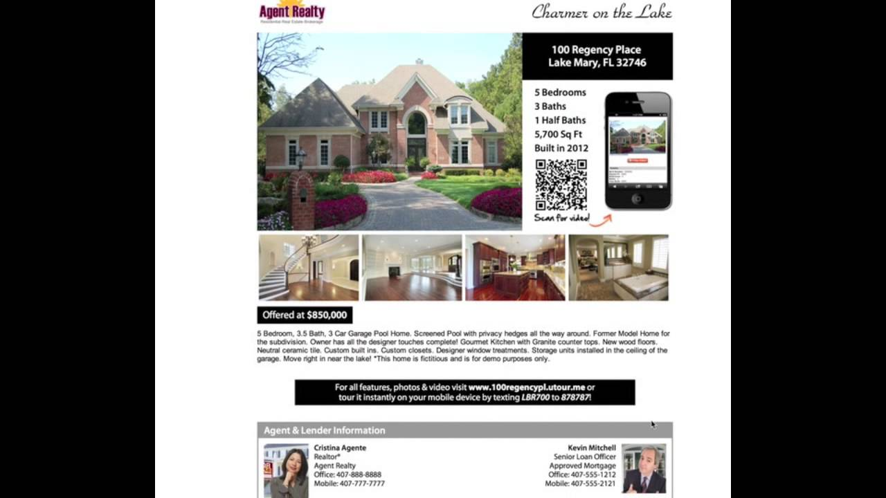 how to make flyers to sell your house by owner diy kit flyer demo