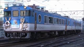 JR西日本 観光列車「清盛マリンビュー」 広島~横川 2012.1
