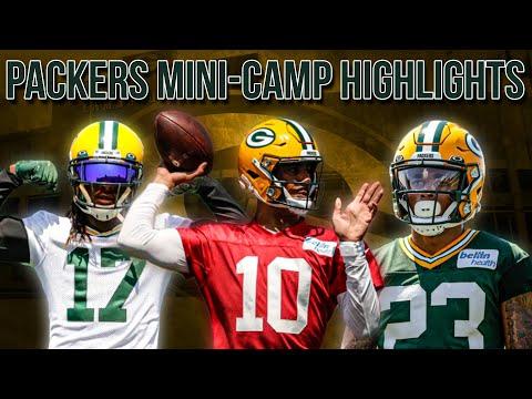 Packers 2021 Mini-Camp Highlights - Jordan Love, Davante Adams & More