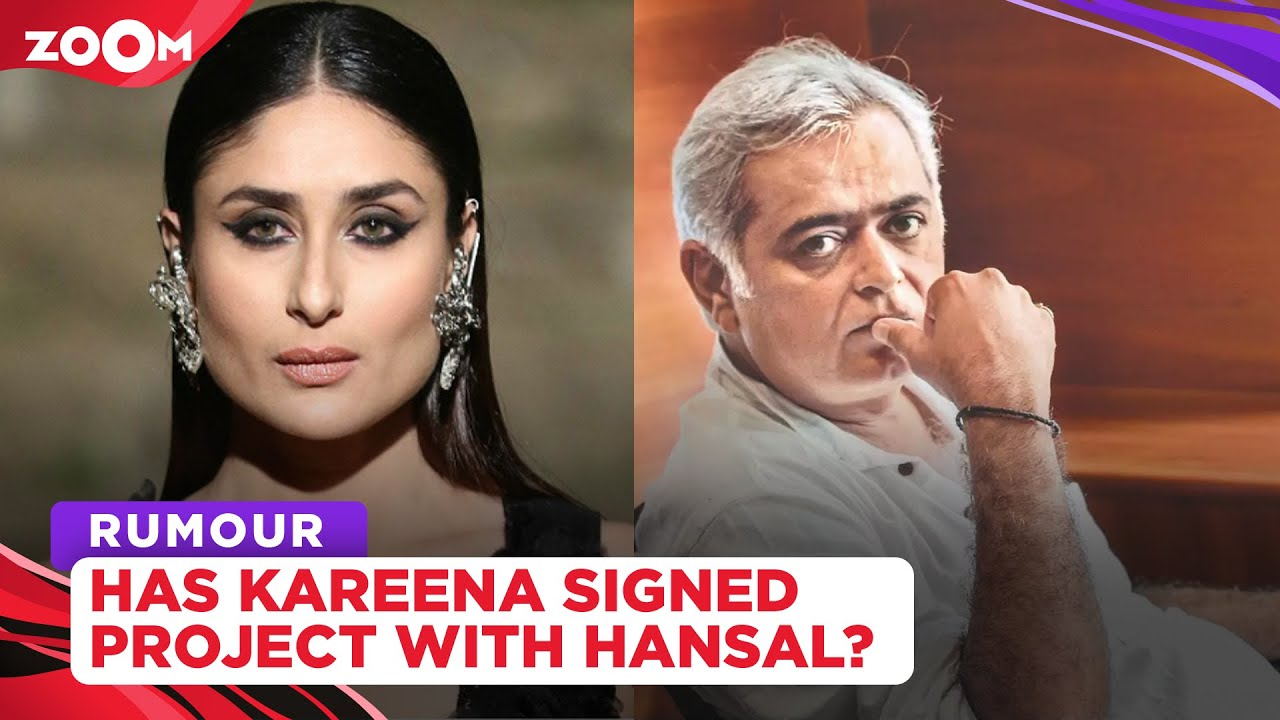 Has Kareena Kapoor Khan signed her next project with Hansal Mehta?