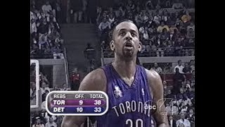 Dell Curry - 14 Fourth Quarter Points in Final Game of Career