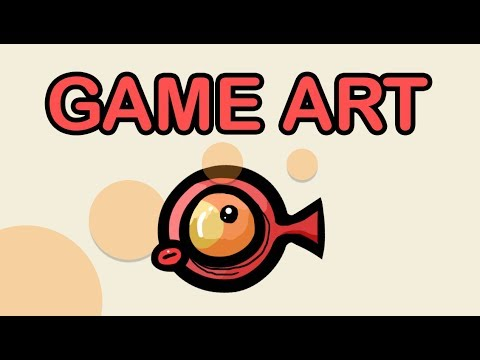 DRAWING 2D CARTOON GAME CHARACTERS IN PS - TUTORIAL thumbnail