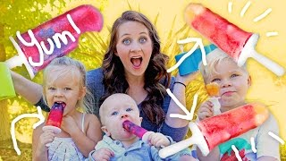 EASY KID-FRIENDLY DIY POPSICLES! thumbnail