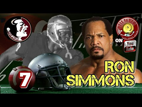 7: RON SIMMONS (Football Players Turned Wrestler)
