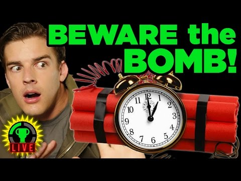 MatPat VS The Bomb! - Keep Talking And Nobody EXPLODES (FT The Warp Zone)