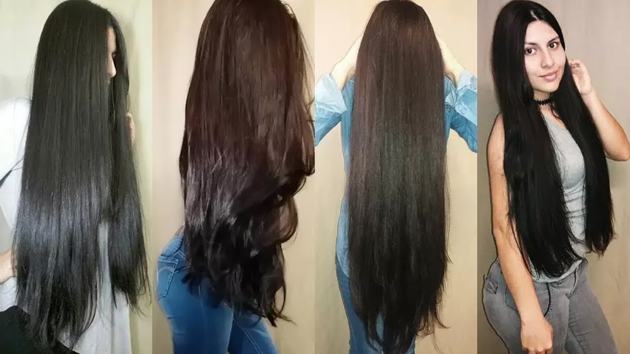 Thick And Long Hair Remedy At Home Healthy Natural Homemade Remedies Youtube