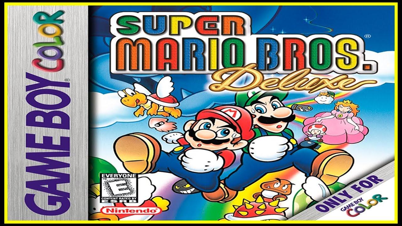 Game boy color super mario bros deluxe -  Lo Retro Mola Game Boy Color Super Mario Bros Deluxe