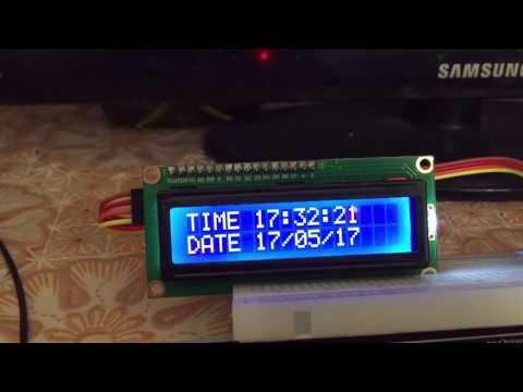 Самые простые часы реального времени на Arduino с датой
