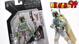 Star Wars Black Series Archive BOBA FETT Action Figure Review