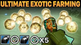 Destiny: ULTIMATE EXOTIC FARMING METHODS REVISITED | EXPLORING THE 15 MINUTE COOL DOWN