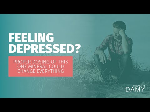 Feeling depressed? Proper dosing of this one mineral could change everything - Dr. David Duizer ND