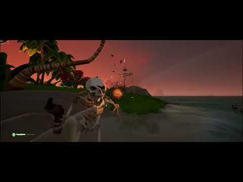 Sea Of Thieves - Crescent Isle Riddle: Five Barnacled Pots & Headless Traveller Atop