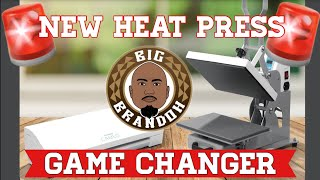 New Heat Press - HPN Craft Pro 9x13 Test and Review