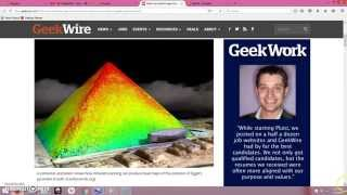 Great Pyramid Thermal Scan Reveals Anomalies
